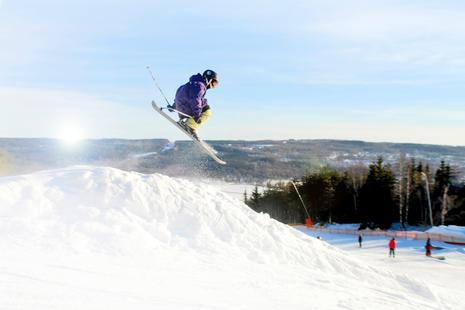 Skifahren in Ulricehamns Ski Center