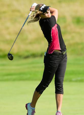Golferin Carin Koch in Schweden