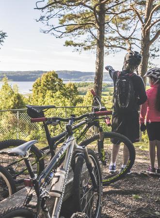 Mountainbiking auf dem Åsundenleden