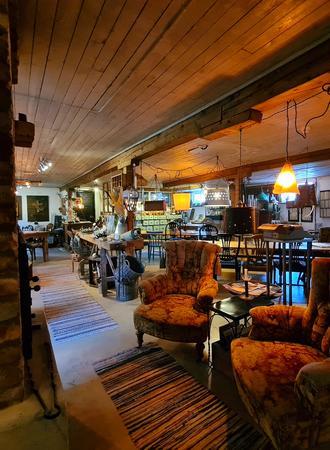 Gårdsbutik und Café in Marbäck