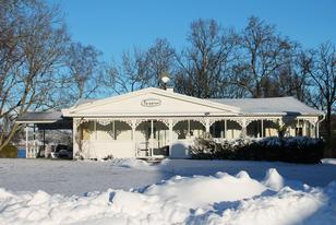 Villa Paradies im Winter