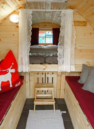 Innenraum  - Camping Fass