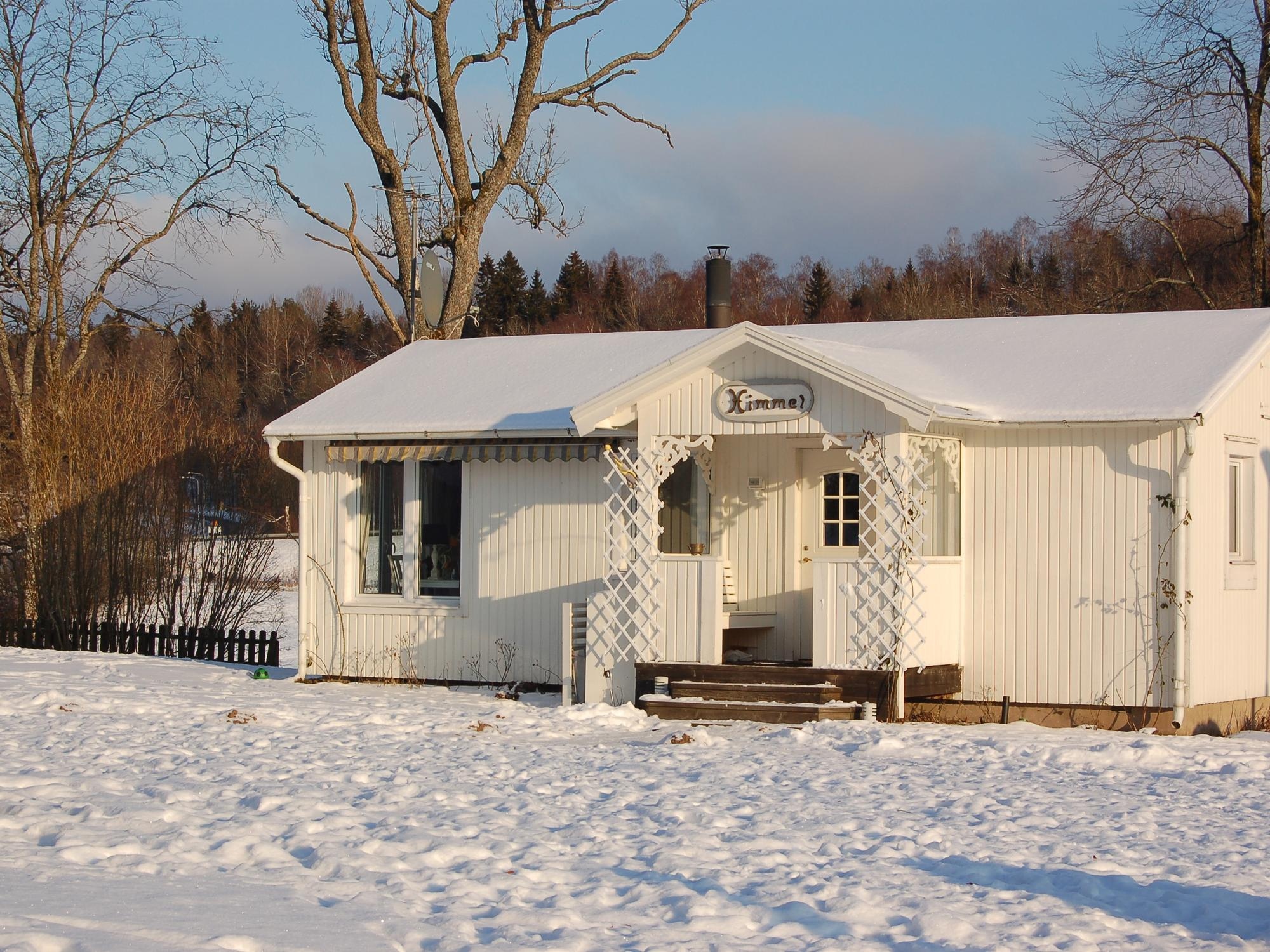 Himmelbungalow im Winter