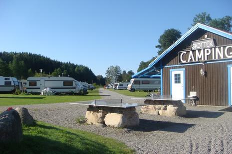 Camping mit Wohnwagen oder Wohnmobil - Skotteksgarden