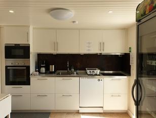 Campingplatz neues Servicehaus Küche