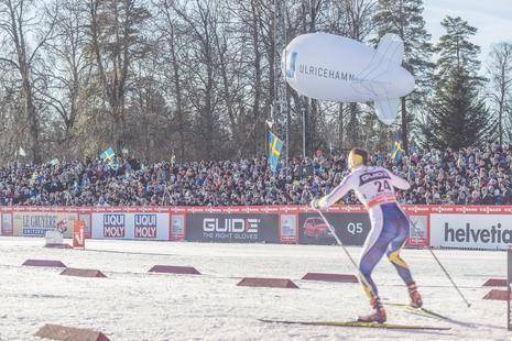 Wettkampf Weltcup Langlaufen